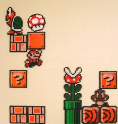 Super Mario Pearl Beads