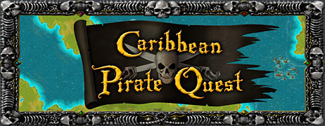Caribbean Pirate Quest, Adventure Puzzle Game
